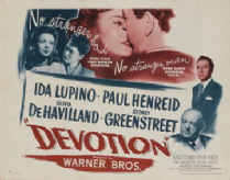Devotion 1946 DVD - Ida Lupino / Paul Henreid